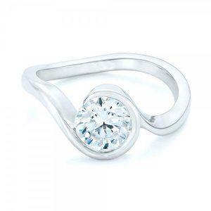 Jewelry - 2 ct Big halo round cut diamond solitaire engageme